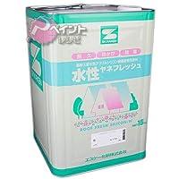 エスケー化研 水性ヤネフレッシュシリコン 艶消し 淡彩色 15kg RC-109 ダークグリーン