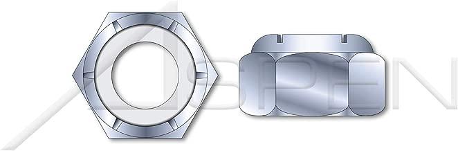 (10 pcs) M24-1.5, DIN 985, Metric, Hex Nylon Insert Stop Lock Nuts, Class 8 Steel, Zinc Plated