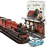 CubicFun Puzzle 3D Expreso de Hogwarts Harry Potter Kits de Modelo 3D Maquetas para Construir para Adultos Regalo de Cumpleaños para Niños Adolescente, 180 Piezas