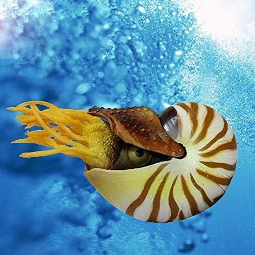 Inveroo Aquarium Zubehör Aquarium Dekorationen Aquarium Simulation Conch Nautilus Soda Seide Fisch Ornamente Für Dekorative
