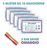 Zoom IMG-1 50 mascherine chirurgiche certificate ce