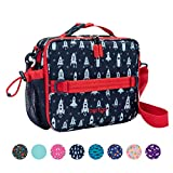 Bentgo Kids Prints Lunch Bag - Double Insulated, Durable, Water-Resistant Fabric with Interior