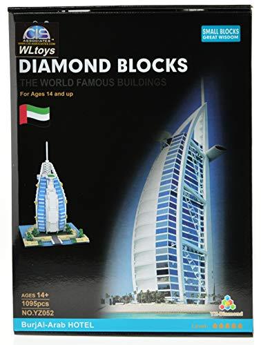 Burj El Arab Micro Block Set with 1095 Bricks