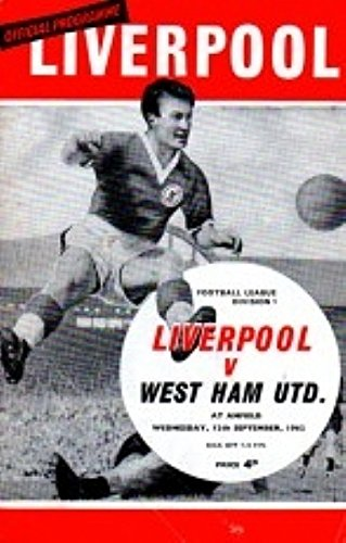 Liverpool Vs West Ham 62/63 Seizoen