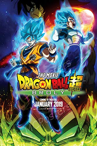 MCPosters - Dragon Ball Super Broly The Movie Glossy Finish Movie Poster - MCP577 (24' x 36' (61cm x 91.5cm))