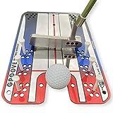 EyeLine Golf Groove Putting Mirror -Training Aid...