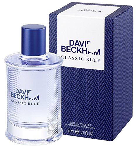 David Beckham Hombre Clásico Azul Agua de colonia para mujer, aroma para él 60ml con bolsa de regalo