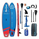 aquaplanet 10ft 6' x 15cm PACE Stand Up Paddleboard - Incl: SUP, Hand...