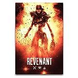 ROTOOY Apex Legends Revenant Leinwand-Kunst-Poster und