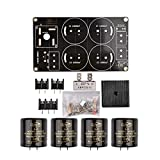 50A Single Rectifier Filter Board DIY Kit PCB Board 10000uF / 50V Gran Corriente para 1969 Amplificador con Condensador de Filtro 50V - Negro