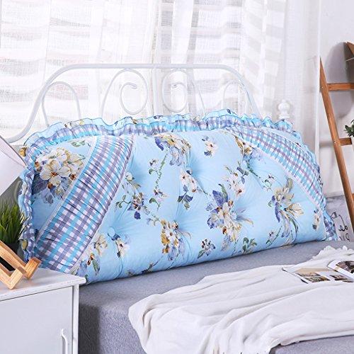 Dossier De Chevet Coussin de canapé simple Coussin de canapé Design de mode moderne Motifs créatifs Ciel confortable Coussin de lit simple amovible 115 * 50 * 15-20cm (Couleur : C)