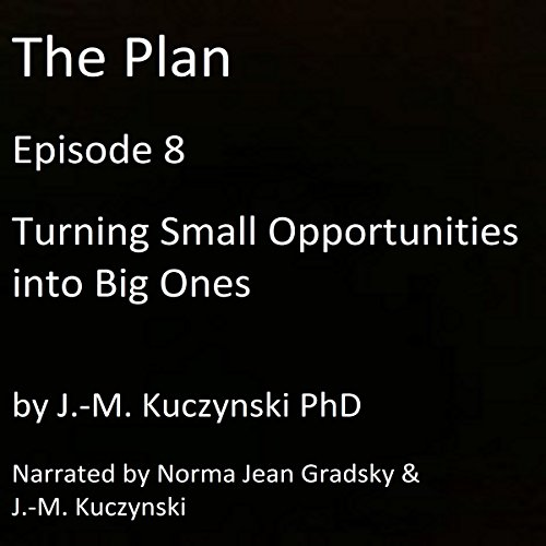 The Plan Episode 8: Turning Small Opportunities into Big Ones audiobook cover art