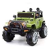 ATAA Bigfoot 4X4 - Verde - Coche eléctrico para niños a batería con 4 potentes Motores