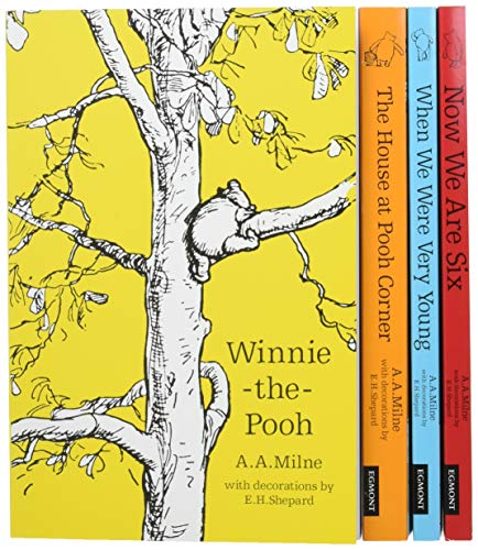 Winnie the Pooh 90th Anniversary Slipcase: Classic Collection / Now We Are Six / When We Were Very Young / The House at Pooh Corner / Winnie-the-Pooh (Character Classics)