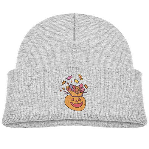 Kids Knitted Beanies Hat Funny Candy Bag Winter Hat Knitted Skull Cap