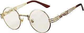 Retro Round Steampunk Sunglasses John Lennon Hippie...