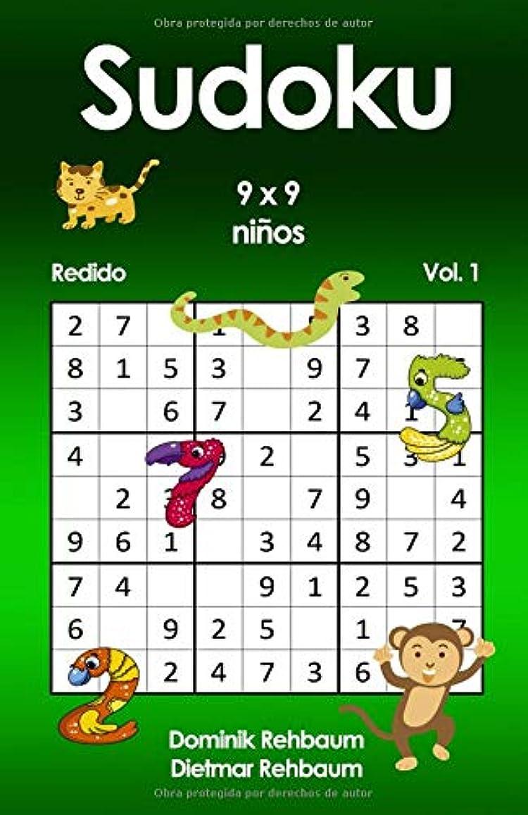 広々細断欠点Redido Sudoku ni?os | 9x9 | Vol. 1