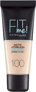 MAYBELLINE FIT ME MATTE PORELESS 100 WARM IVORY