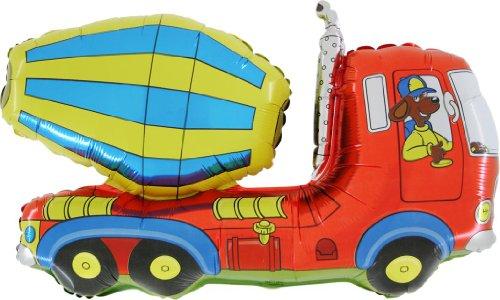 BALLOONSHOP Le Camion Concret de 36 Pouces / Le Papier d'aluminium de Mixeur de Ciment Le Ballon en Forme (de CS143) [Le Jouet]