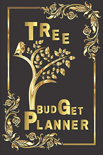TREE BUDGET PLANNER: mead organizher expense , bill organizer money tracker / family finance monthly and weekly planner spiral bound undated cash books bookkeeping bookfactory