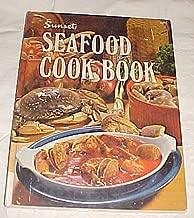 Sunset Seafood Cook Book Cookbook Hardback 1974