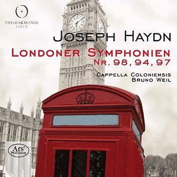 Haydn: Londoner Symphonien - Nr. 98, 94, 97