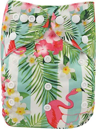 Ohbabyka Couches de poche réglables unisexe en tissu avec 1 intérieur en daim doux (OB165)