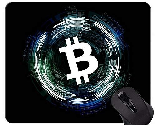 Rutschfeste Gummi-Gaming-Mausunterlage, Geld-Blockchain-Kapital-personalisierte Rechteck-Gaming-Mausunterlagen