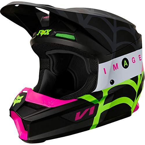Fox Racing 2020 Youth V1 Helmet - Venin LE (Large) (Black)