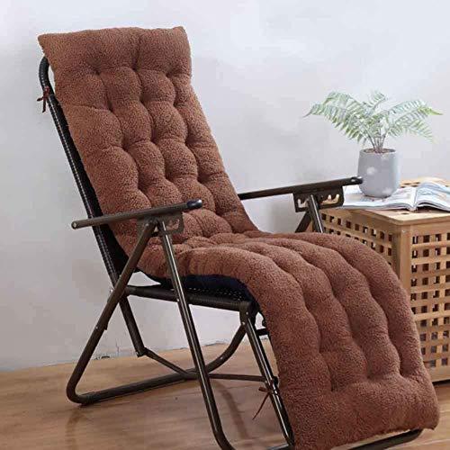 Cojín del asiento de la silla de salón al aire libre de interior, mecedora Sofá Cojín del asiento del banco Cojín de la silla del banco de oscilación Para la estera de la silla del patio (cojín solame