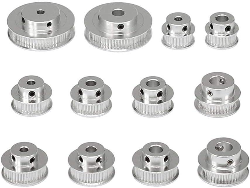 GT2 Timing Belt Pulley 30T Bore 5mm Belt Width 6mm For 3D Printer Reprap 5mm bore, 30T