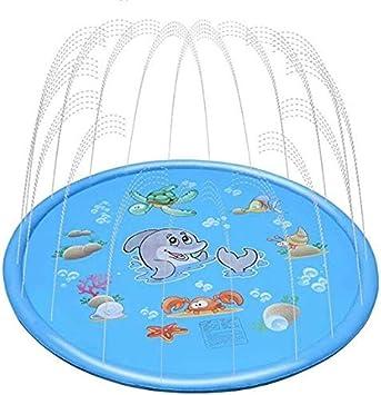 Unicorn Upgraded 2020 Version Large /68/ Sprinkler/Play Mat Backyard Summer Fun Water Pad/Outdoor Play Sprinklers for 1-12 Years Boys Girls Splash Pad for Kids