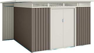 Hoggar Abri de jardin Premium Orebro 8.96 m2 - Garantie 10 ans - 333x269x189cm