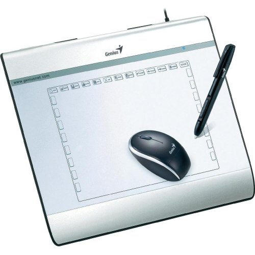 Genius MousePen i608 Grafiktablet (20,3 cm (8 Zoll) Display, 2560 LPI) inkl. Maus/Stift
