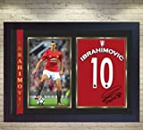 SGH SERVICES Gerahmtes Poster Zlatan Ibrahimovic,