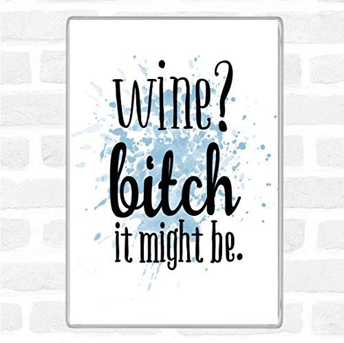 Wijn Het kan Inspirational Quote Jumbo Koelkast Magneet