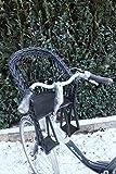 Marcus Weidenhandel Kinderfahrradsitz Fahrradsitz aus Weide in Schwarz für den Fahrradlenker mit/ohne Kissen (ohne Kissen)