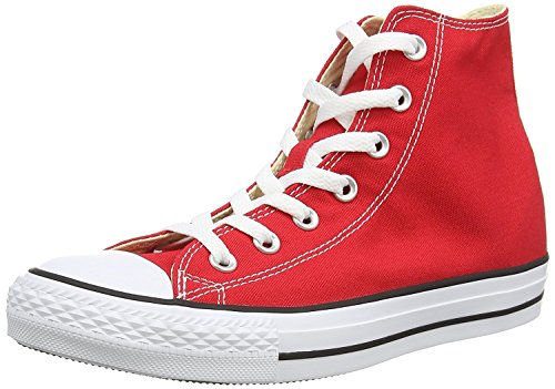 Converse Unisex Chuck Taylor All Star High Top (4 D(M) US, Red)