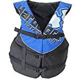 Hardcore Water Sports Adult Life Jacket Vest - US Coast Guard Approved Type III (Blue Super Large)