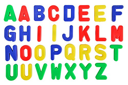 Simba 104591456 - Art & Fun, Magnet-Groß-Buchstaben, 31-tlg