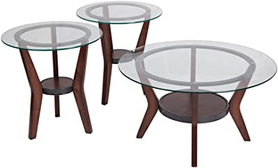 Offex OFX-274017-FF Contemporary Design 3 Piece Occasional Table Set