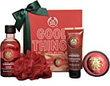 The Body Shop Strawberry Essential Selection - Strawberry Duschgel 250ml, Body Scrub 75ml, Body...