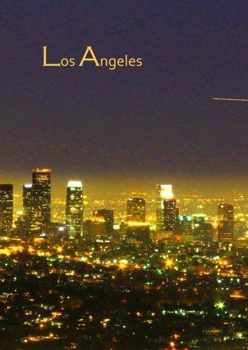 Notizbuch A4 - kariert - Los Angeles: USA / Kalifornien