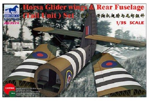 Bronco Models 1/35 de Velocidad aerodinámica A.S.51 Horsa Planeador MK.I alas y fuselaje Trasero (Unidad de Cola) Set # 3574