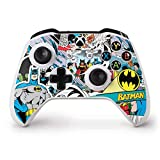 Skinit Decal Gaming Skin Compatible with Xbox One S Controller - Officially Licensed Warner Bros Batman Comic Book Design