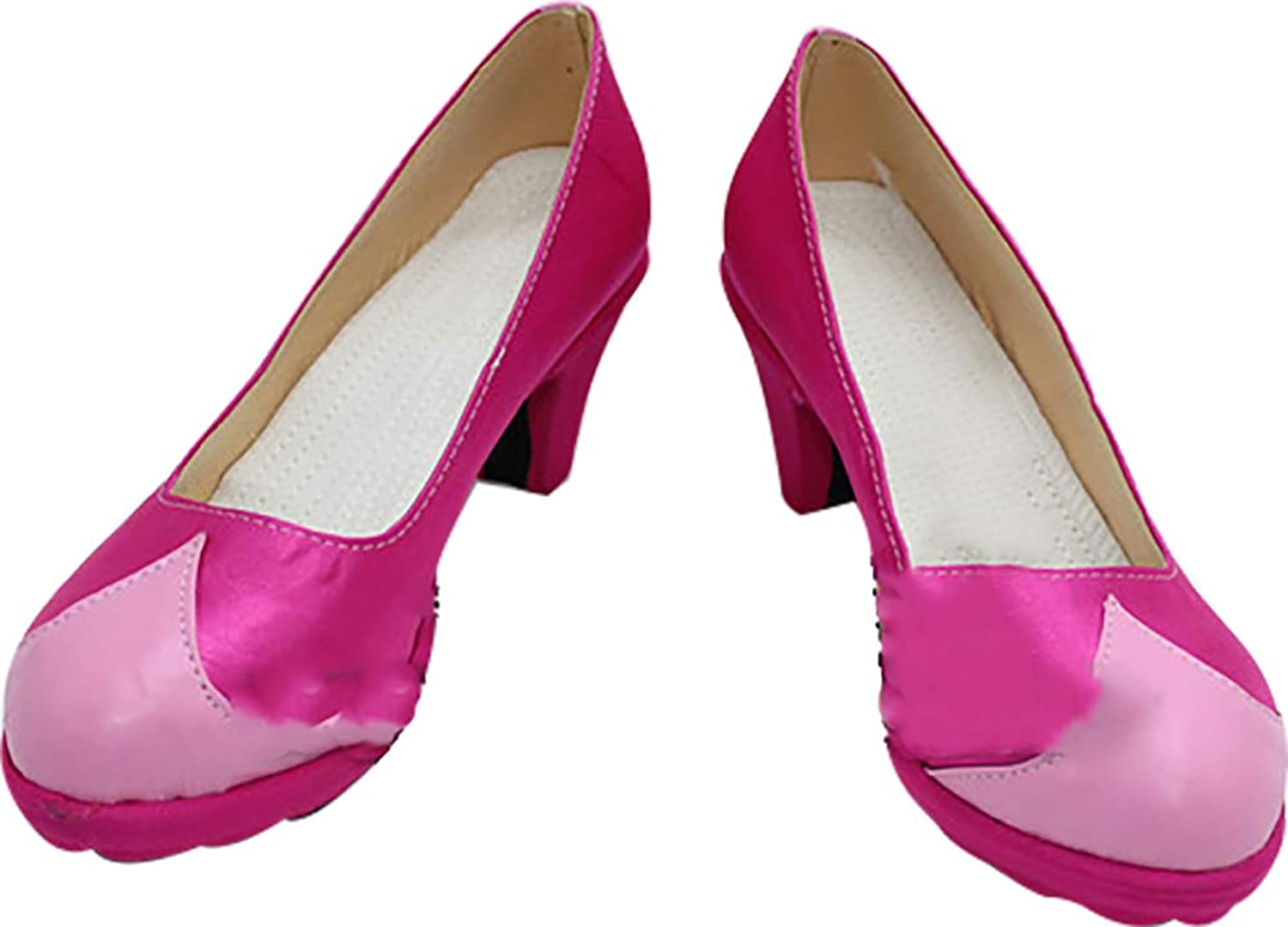 Whirl Cosplay Boots shoes for League of Legends Ahri Pink