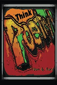 Paperback Think Poetry [Large Print] Book