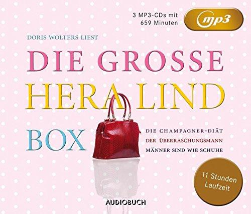 Die große Hera Lind Box (Die Champagner-Diät, Der Überraschungsmann, Männer sind wie Schuhe) - 3 MP3-CDs mit 659 Min.