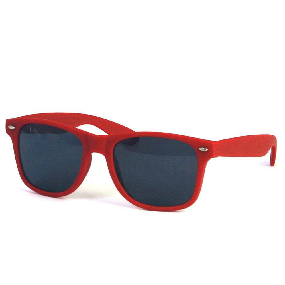Rubber Coated Spring Hinge Sunglasses