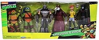 Nickelodeon Teenage Mutant Ninja Turtles Exclusive 6 Pack Figure Box